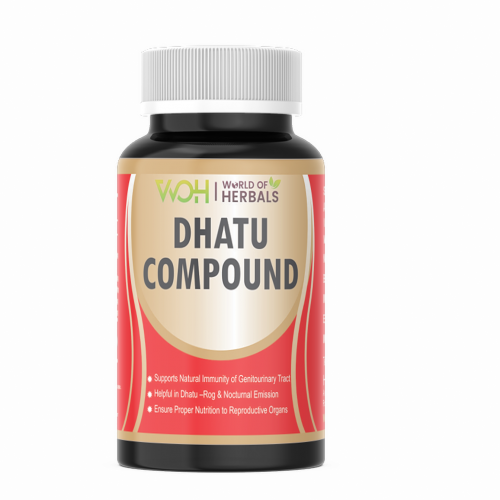 Dhatu Compound - Ayurvedic Medicine for Dhant, Night Fall, Dhatu Rog, Sperm in urine. Best Ayurvedic Products in India.